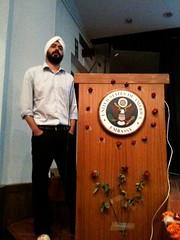 Bipin Singh from MobiKwik at Startup Saturday Delhi Oct. 2009