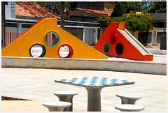 Mini-área de lazer na Praça das Ruas Verdes Mares e Amor Perfeito (Ouro Preto)