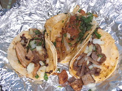 Tacos from Las Cazuelas