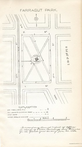 Farragut Square ca. 1886