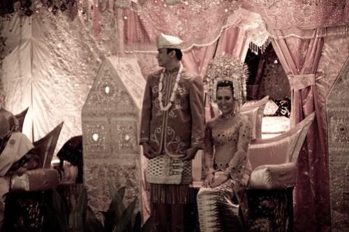 Dian and David's wedding