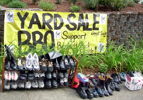 Yard Sale BBQ
