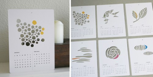 Calendars: Wall