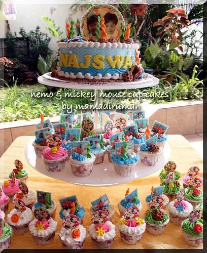 Edible Nemo Cake Decorations