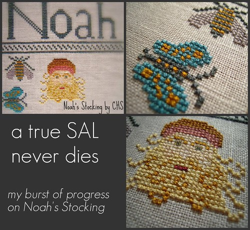 Noah's Stocking collage