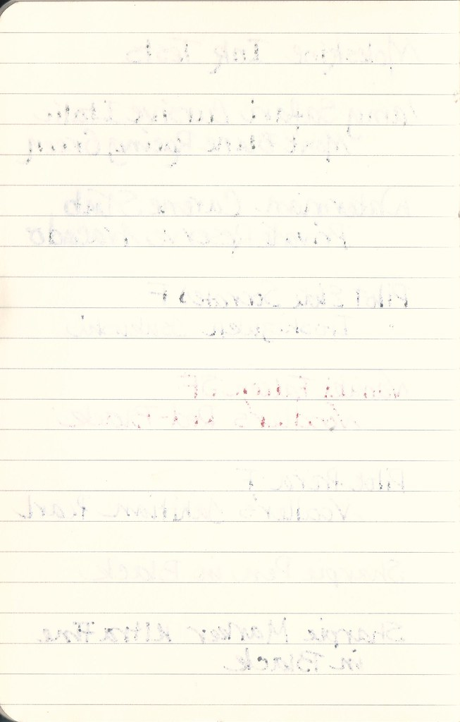 Moleskine Journal - Reverse
