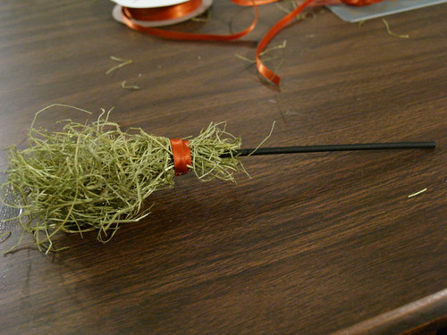 Witch's Broom Tutorial Step 2