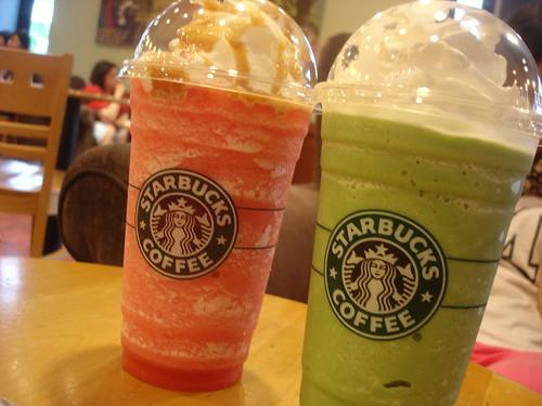 [Starbucks Coffee] Colorful Frappuccino