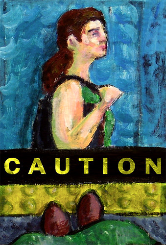 Illustration Friday: Caution