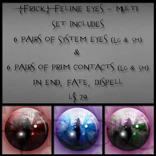 Frick - Feline Eyes - Multi