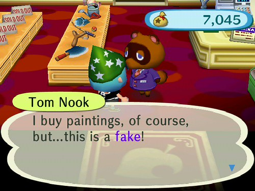 Nook can spot a FAKE!