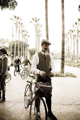 """""""LA Tweed Ride"""" by kinamari"""