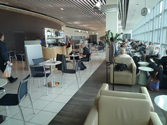 Gate Lounge in Frankfurt