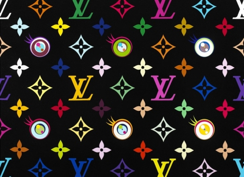 Eye Love Superflat ใช้สีอะครีลิควาดออกมาจริงๆ ตอนแรกนึกว่าปรินท์ออกมาบ้านๆ