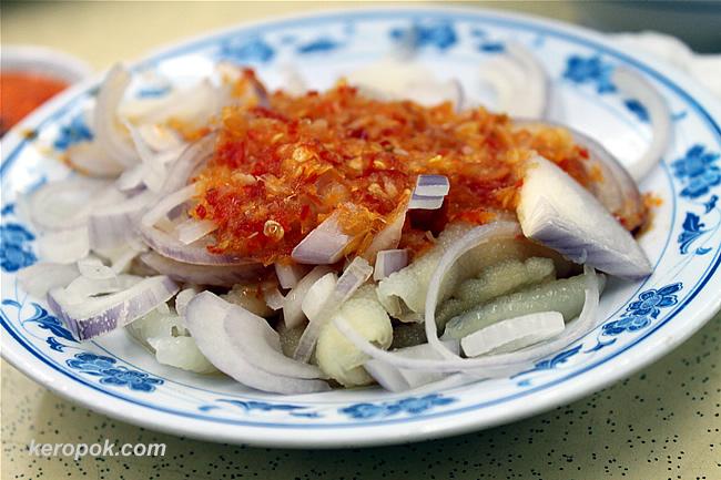 Thai Style Crystal Chicken Feet