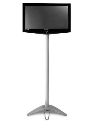 "32"" Monitor Stand Portable Pop Up Flatscreen TV Kiosk"