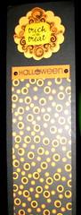 Magnetic Halloweenie note pad Sandy made me