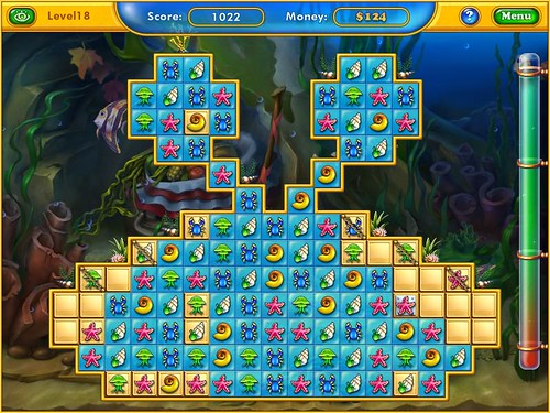 Fishdom Harvest Splash game Screenshot