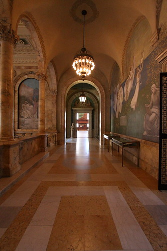 Hallway, Boston Public Library