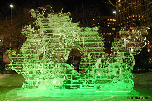 Ice Sculpture at Ottawa's Winterlude.