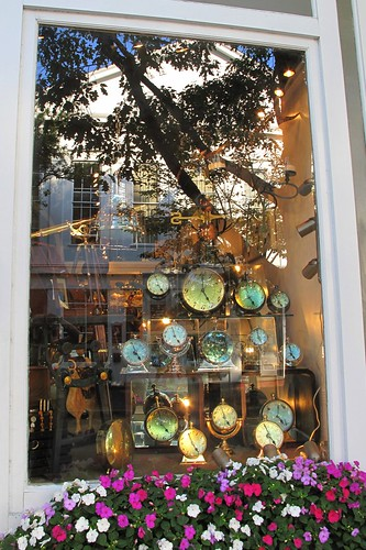 Clock shop in Nantucket