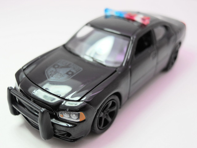 greenlight 2006 Dodge Charger black Bandit  (3)