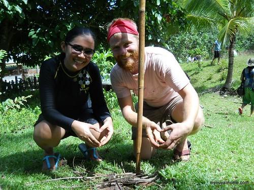 Tree Planting at Maia Earth Village