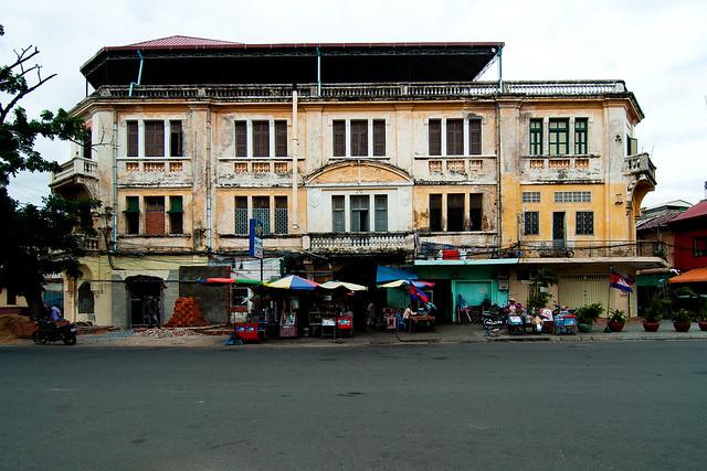 Former Hotel Manolis, Phnom Penh