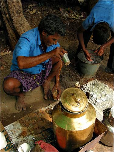 Road side tea shop