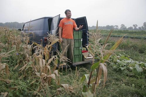 zack on the van