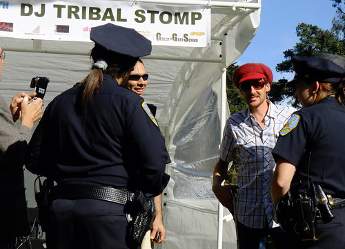 DJ Garth (Wicked) VS SFPD. DJ Tribal Stompy-Stomp. Golden Gate Park. 2009. Sometimes in life you get what you paid for. FREE 3