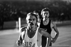 Steve Prefontaine in a post-Olympic 2-mile rac...
