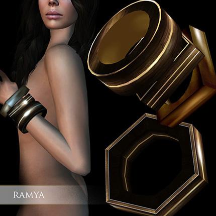 Zaara : Ramya wood bangles