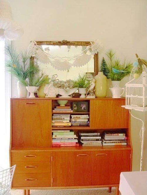 DIY Yarn Candelabras