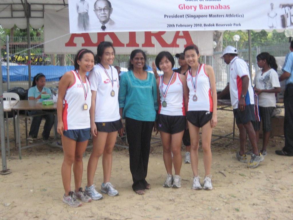 Women's Team 1 (3rd) - Zhiyun, Trisha (for Zakiyah), Cai Sang, Valerie