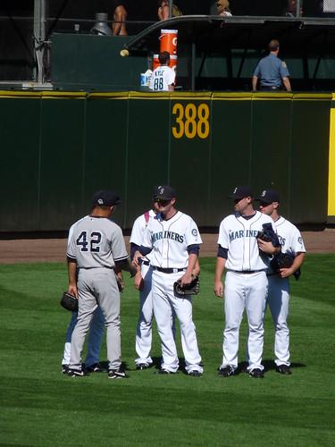 Rivera and Mariners Bullpen