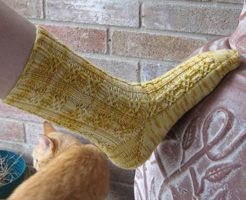 knotty sock 1 w roger