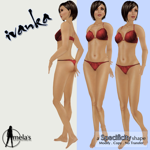 Ivanka Body Shape at Mela's