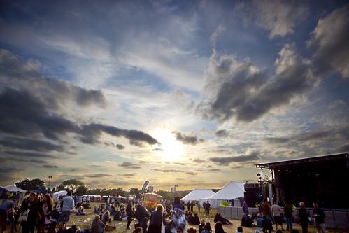 Offset Festival Sunset