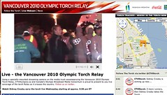 Live Webcam @ Vancouver 2010 Olympic Torch Relay - Pix 6 (Sidney Crosby)