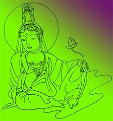 Kuan yin Bodhisattva © Marcelle Hanselaar