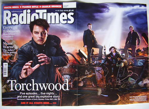 TORCHWOOD - 'Radio Times' Cover