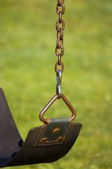 Swing seat rust