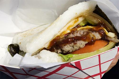 Torakku beef burger