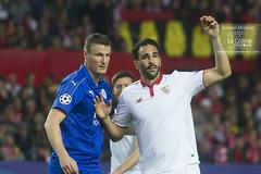 Sevilla FC 2-1 Leicester 1/8 Champions League 2016/17