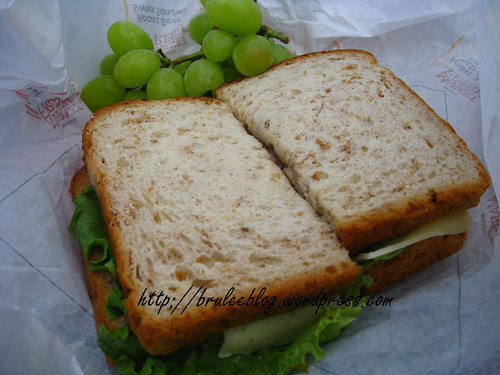 Arbys Market Fresh sandwich