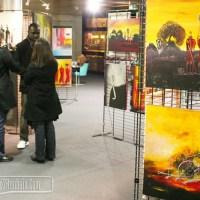 Babacar Diop expose à l'université de Lille 2