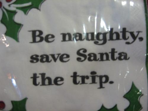 Funny Holiday Napkins