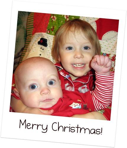 Merry Christmas Poloroid
