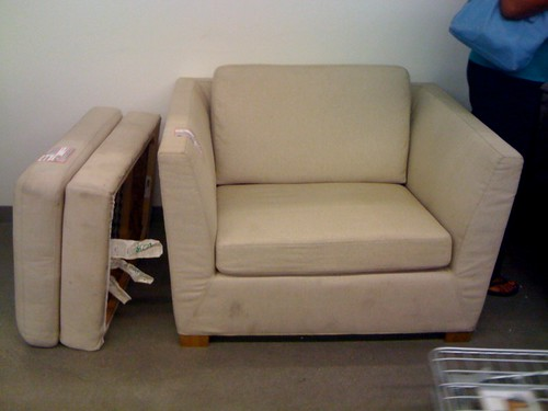 Chair in store